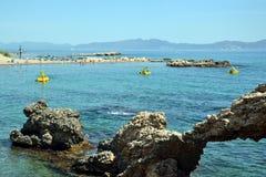 l'Escala w Costa Brava, Catalonia, Hiszpania Obraz Royalty Free