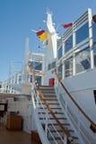 L'escalier du bateau Image stock