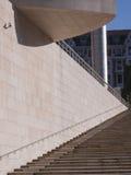 L'escalier du musée de Guggenheim image libre de droits