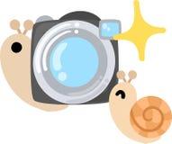 L'escargot assez petit Images libres de droits