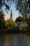 L'escursione del monastero di Novodevishy Fotografie Stock