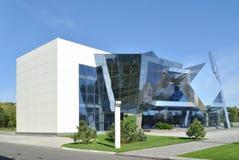 L'esempio di cubism nell'architettura moderna Fotografie Stock Libere da Diritti