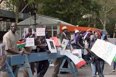 L'esercito dell'Uganda deve lasciare il Sudan del sud Fotografia Stock