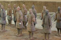L'esercito di terracotta Fotografia Stock Libera da Diritti