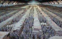 L'esercito di terracotta di Xian Fotografia Stock