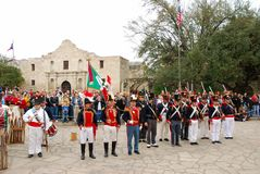 L'esercito messicano Fotografie Stock Libere da Diritti