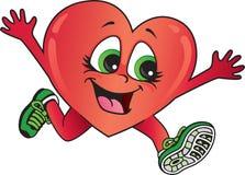 Funzionamento sano del cuore Fotografie Stock