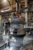 L'espace à l'usine sidérurgique Photos stock