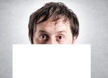 Espace vide masculin Image libre de droits