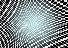 L'espace bleu de point Images libres de droits