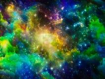 L'espace brillant Photographie stock