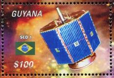 l'espace commémoratif de satellite de musée de Moscou de la cosmonautique Photographie stock libre de droits