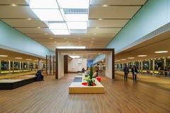 L'espace conçu pour le départ à l'aéroport de Narita Photo stock
