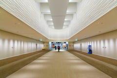 L'espace conçu pour le départ à l'aéroport de Narita Photographie stock