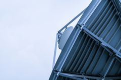 L'espace d'antenne parabolique images stock