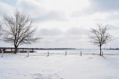 L'espace d'hiver Photographie stock