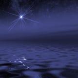 L'espace d'océan d'étoile photographie stock