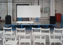 L'espace de conférence Photographie stock