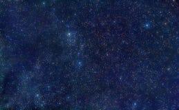 L'espace de constellation de Perseus Photographie stock libre de droits
