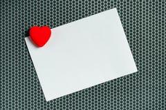 L'espace de copie de lettre d'amour de jour du ` s de Valentine Image libre de droits