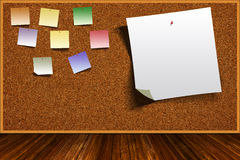 L'espace de Cork Board Background With Copy Image stock