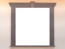 L'espace de fenêtre et de copie image libre de droits