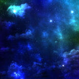 L'espace de galaxie Images libres de droits