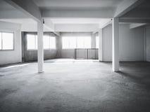 L'espace de grenier établissant le fond intérieur Image libre de droits
