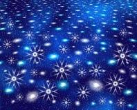 L'espace de Noël d'abstraction Photos stock