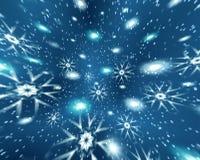 L'espace de Noël d'abstraction Images stock
