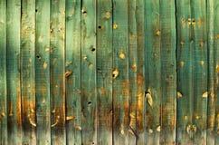 L'espace en bois vert de copie Photo libre de droits