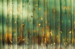 L'espace en bois vert de copie Images stock