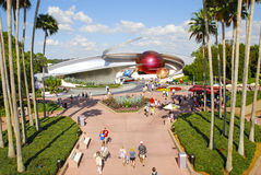 L'espace EPCOT de mission Photo stock