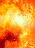 L'espace et les étoiles cosmiques, colorent le fond abstrait cosmique Effet de feu en espace Copiez l'espace illustration libre de droits