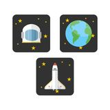 L'espace Logo Template Images libres de droits