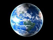 L'espace mi Amérique de la terre Photographie stock libre de droits