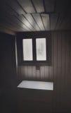 L'espace noir et blanc Image libre de droits