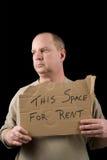 L'espace pour le loyer Photographie stock