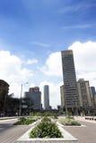 L'espace public dans la ville de Bogota Photographie stock libre de droits
