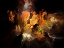 L'espace rêveur virtuel Photos stock
