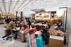 L'espace restauration d'aéroport de Shenzhen Photographie stock