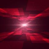 l'espace rouge Photographie stock libre de droits