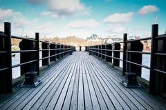 L'espace tranquille dans la ville photo libre de droits