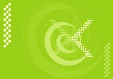 L'espace vert illustration de vecteur