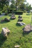 L'espace vert de jardin Photo stock