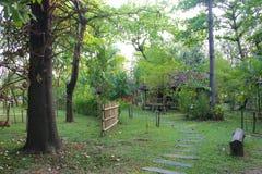 L'espace vert de jardin Images libres de droits