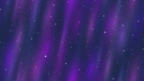 L'espace vide, bleu et boucle sans couture lilas