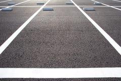 L'espace vide dans un parking Photo stock