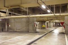 L'espace vide dans un parking Photo libre de droits