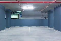 L'espace vide dans un stationnement Photographie stock libre de droits